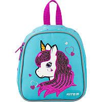 Рюкзак дитячий Kite Kids Pink unicorn K20-538XXS-3, фото 1