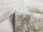 Коврик неоклассика MIRADA 0123A 1Х2 Кремовый овал, фото 3