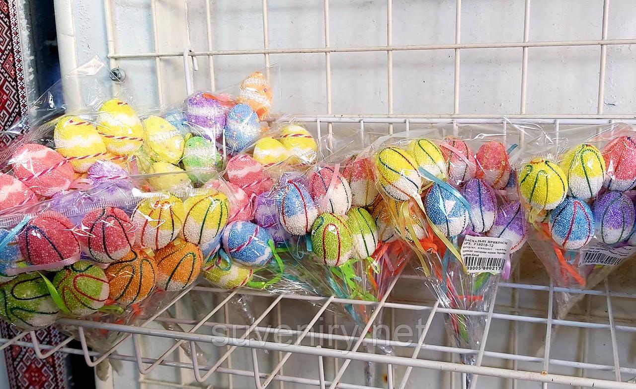 Декоративные  пасхальные яйца маленькие разные виды