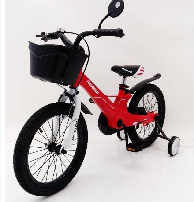 Велосипед 1650D-HAMMER HUNTER красный Магниевая рама и диски (Magnesium)