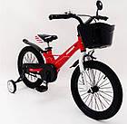Велосипед 1650D-HAMMER HUNTER красный Магниевая рама и диски (Magnesium), фото 2