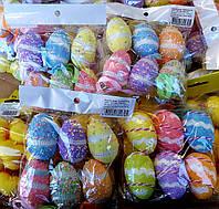 Декоративные  пасхальные яйца разные рисунки