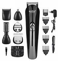 Машинка для стрижки волос Kemei KM-600   Триммер универсальный 11 в 1
