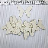 Бабочки 12шт чипборд, фото 2