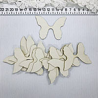 Бабочки 12шт чипборд, фото 1