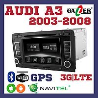 Штатна магнітола AUDI Gazer CM6007-AUDI A3 8P (2003-2008) 8P0035186G