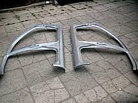 Стойка передняя боковины наружная Ланос-1 96248540. Передняя стойка кузова на Ланос hatchback 96248541