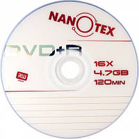 Диск Nanotex  DVD-R 16xbulk 50 (4,76 Gb, 120мин)
