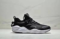 Мужские кроссовки Nike Air Huarache City Move Black/White Реплика, фото 1