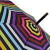 Зонт-трость de esse полуавтомат Радуга, фото 6