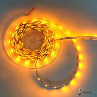 Светодиодная лента 12V 3528 60led/m 4,8W IP20 желтая TM Crop