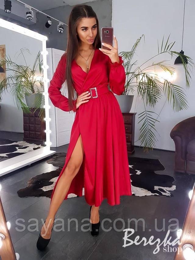 женское платье шелковое