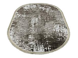 Ковер современный NUANS W3226 1,6Х2,3 КОРИЧНЕВЫЙ овал