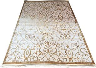 Ковер современный NUANS W6050 1,6Х2,3 КРЕМОВЫЙ прямоугольник