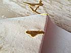 Ковер современный NUANS W6059 1,6Х2,3 Бежевый прямоугольник, фото 2