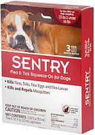 Sentry СЕНТРИ КАПЛИ от блох, клещей и комаров для собак весом 15-30 кг