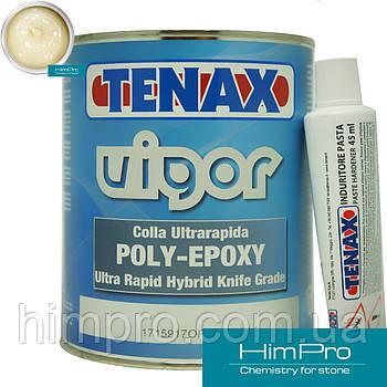 VIGOR transparente1L Tenax прозрачно-молочный Полиэфирно-эпоксидный клей для мрамора, гранита