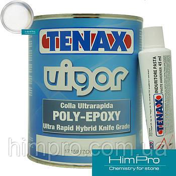 VIGOR white 1L Tenax белый  Полиэфирно-эпоксидный клей для мрамора, гранита