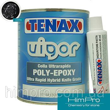 VIGOR black 1L Tenax черный Полиэфирно-эпоксидный клей для мрамора, гранита
