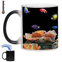 Чашка-хамелеон Акваріум 330 мл, фото 1