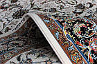 Коврик восточная классика Padishah 4002 1,5Х2,25 Кремовый прямоугольник, фото 3