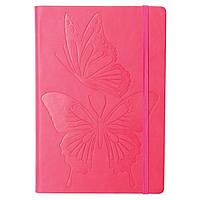 """Блокнот A4, 96 листов """"Butterfly Dance"""" SK-4845 малин"""