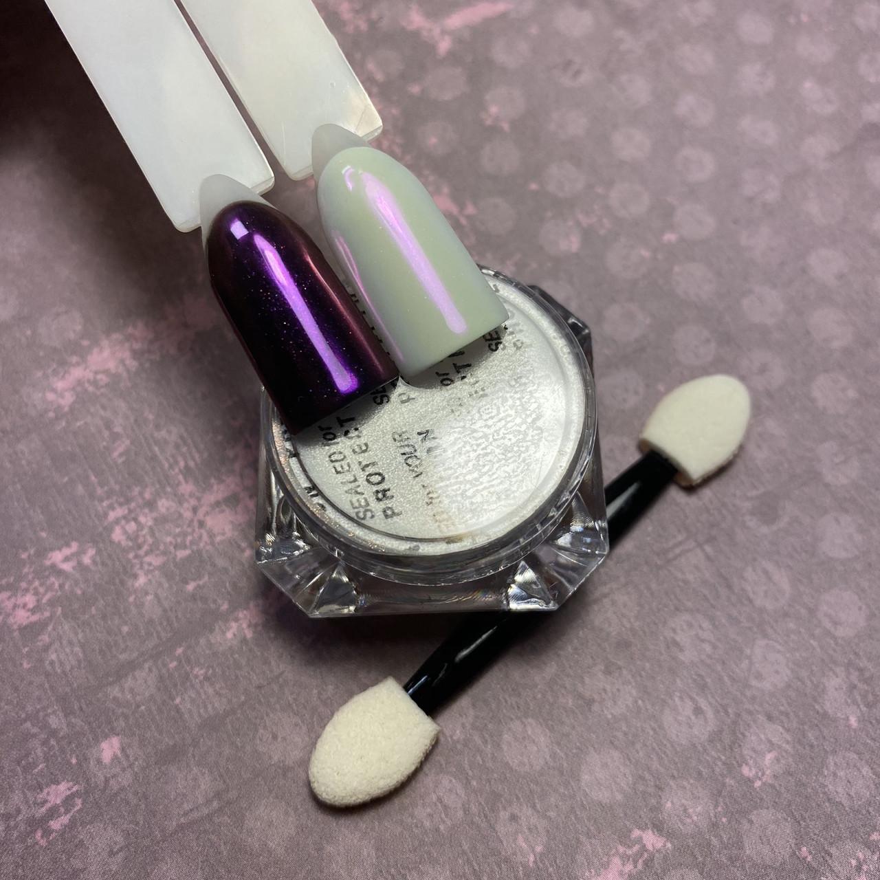 Втирка жемчужная для ногтей Shell Powder №4