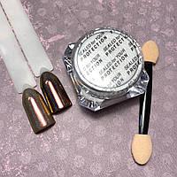 """Втирка для дизайна ногтей """"Павлин""""  Peacock Powder №2"""