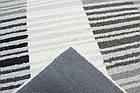 Коврик современный PANACHE Block Stripe Rug 1 1,5Х2,3 КРЕМОВЫЙ прямоугольник, фото 3