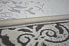 Коврик современный PATARA 0035 0,8Х1,5 Кремовый овал, фото 5