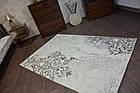 Коврик современный PATARA 0035 0,8Х1,5 Кремовый овал, фото 3