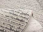 Коврик современный PATARA 0083 0,8Х1,5 Светло-бежевый овал, фото 2