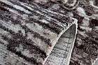 Коврик современный PATARA 0126 0,8Х1,5 КОРИЧНЕВЫЙ прямоугольник, фото 3