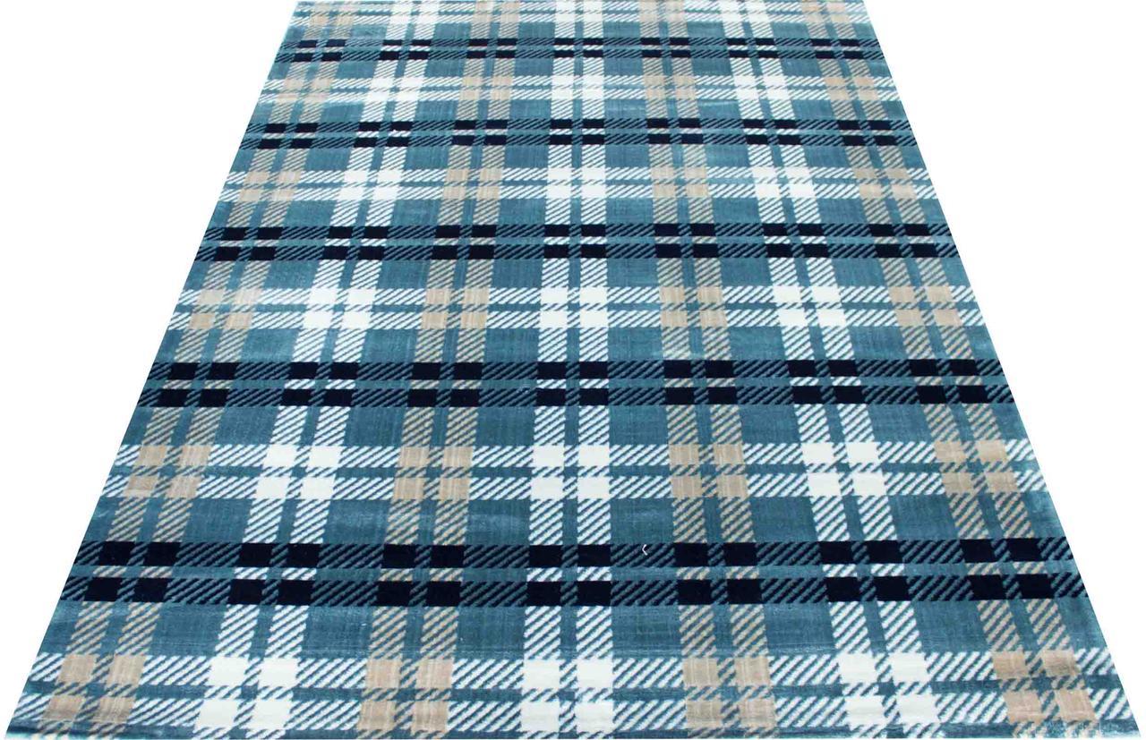Ковер винтаж PESAN W2314 1,6Х2,3 Синий прямоугольник