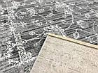 Ковер винтаж PESAN W4015 1,6Х2,3 Светло-серый прямоугольник, фото 3