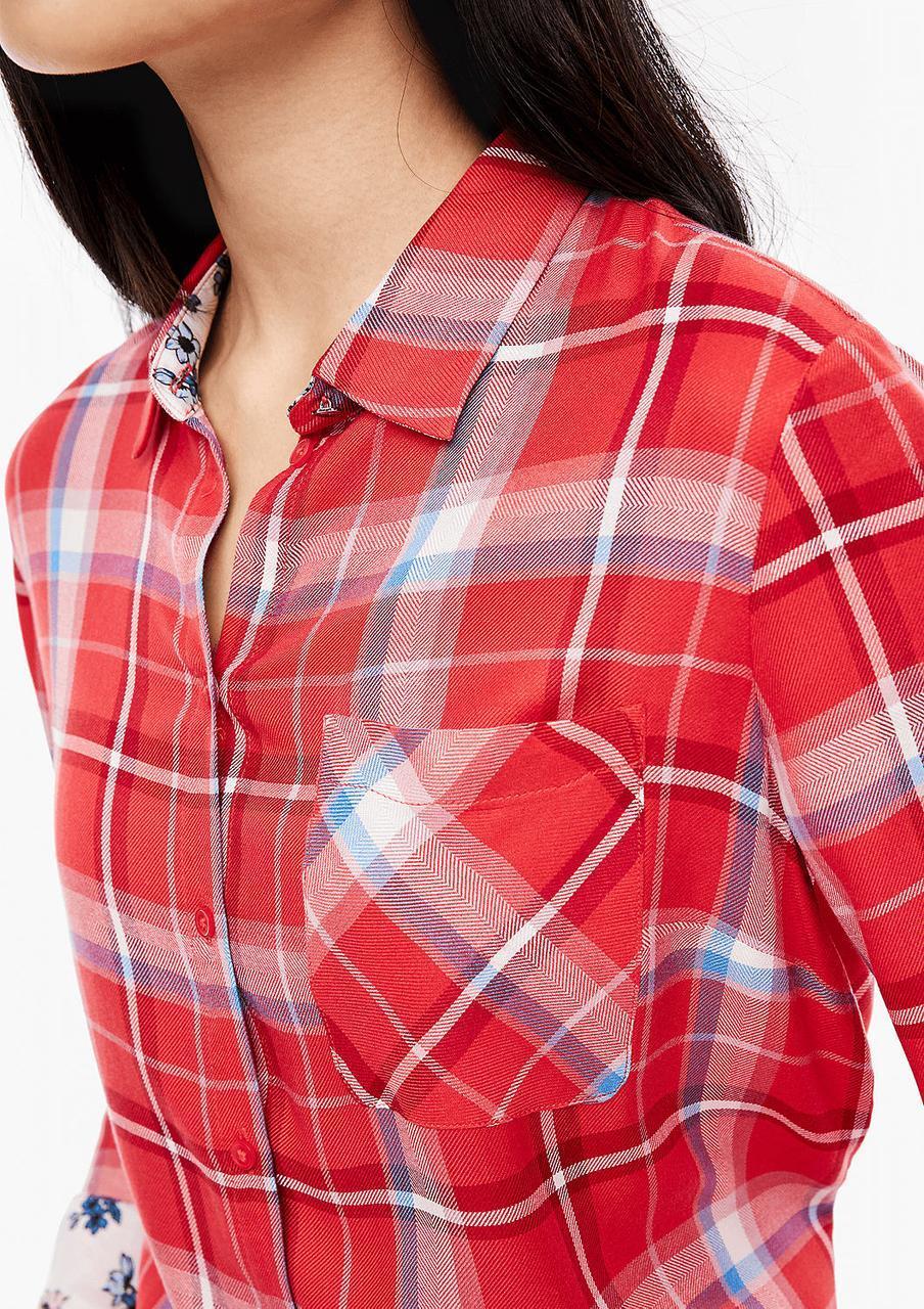 Блуза S.Oliver 05.912.11.2825 красный