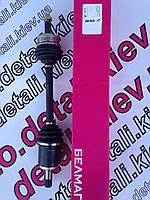 Привод левый всборе ВАЗ2108-21099, 2113-2115  свнутренним трипоидным ШРУСом, арт.BM.5986