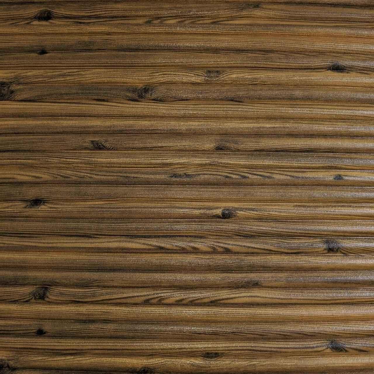 Самоклеящаяся декоративная 3D панель бамбук коричневый 700x700x9 мм (самоклейка, Мягкие 3D Панели)