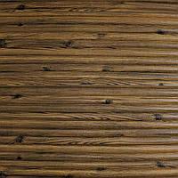 Самоклеящаяся декоративная 3D панель бамбук коричневый 700x700x9 мм (самоклейка, Мягкие 3D Панели), фото 1