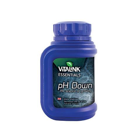 Понизитель уровня pH VitaLink Ph Down 81% 250мл, фото 2