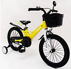 Велосипед 1850D-HAMMER HUNTER желтый Магниевая рама и диски (Magnesium), фото 2