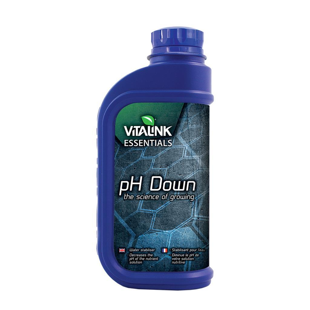 Понизитель уровня pH VitaLink Essentials phpH Down  81% 1л