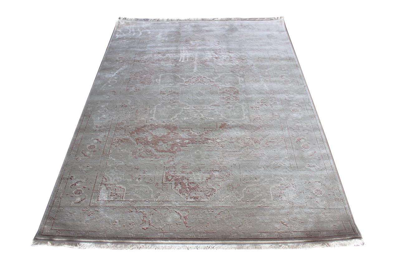 Ковер современный PURE 0033 1,85Х1,33 БЕЛЫЙ прямоугольник