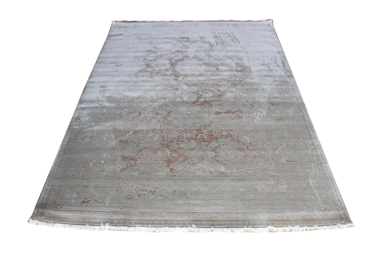 Ковер современный PURE 0035 1,85Х1,33 Белый прямоугольник