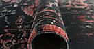 Ковер современный PURE 0037 1,85Х1,33 СЕРЫЙ прямоугольник, фото 2