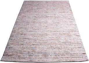Ковер современный QUASAR N105B 2Х2,9 РОЗОВЫЙ прямоугольник