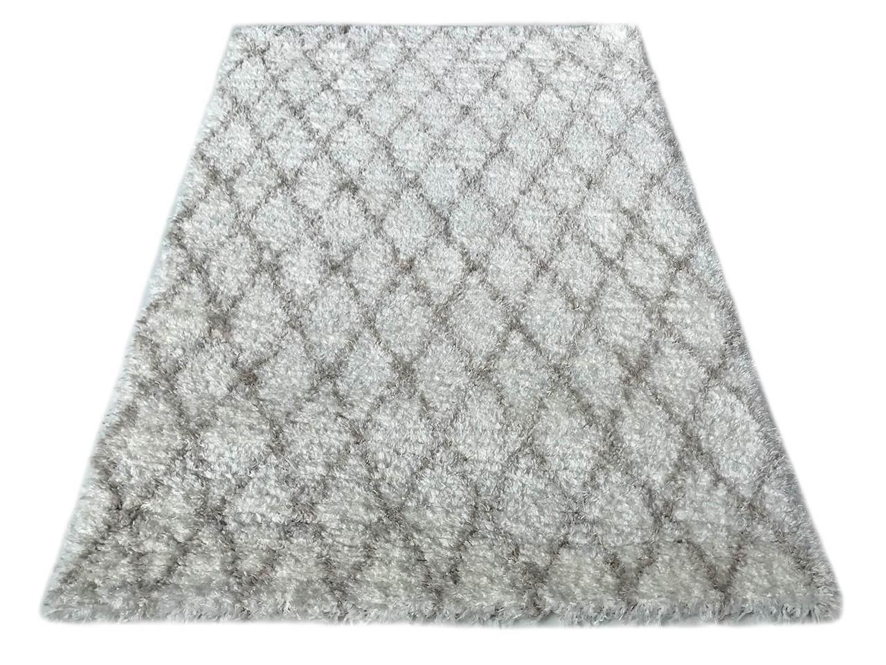 Ковер современный QUATTRO 3507A 1,6Х2,3 Кремовый прямоугольник