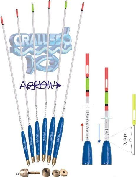Поплавок Cralusso Arrow Waggler (1040) 12г