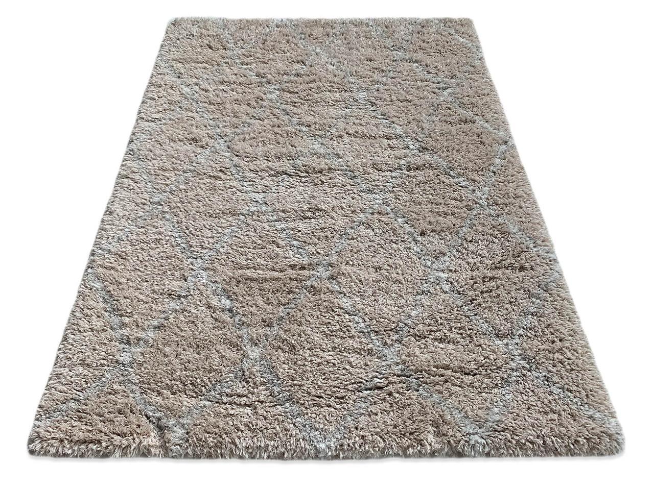 Ковер QUATTRO 3508A 1,6Х2,3 БЕЖЕВЫЙ прямоугольник