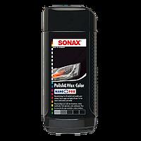 Полироль с воском SONAX NanoPro черный 250 мл (296145/296141)